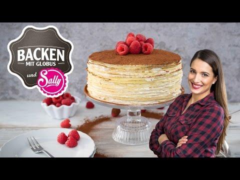 Tiramisu-Crêpes-Torte | Backen mit Globus & Sallys Welt #32