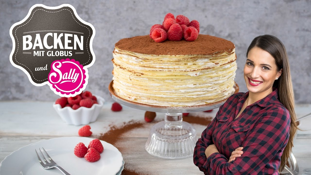 Tiramisu Crepes Torte Backen Mit Globus Sallys Welt 32 Youtube