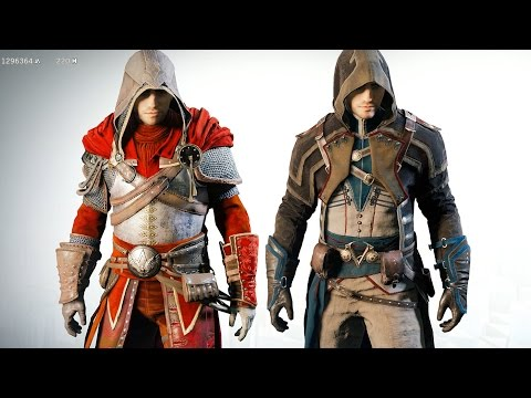 Assassin's Creed Unity Co Op Legendary Assassin's & Free Roam Ultra GTX 970
