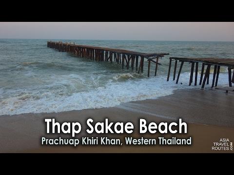 Thap Sakae Beach, Prachuap Khiri Khan Western Thailand