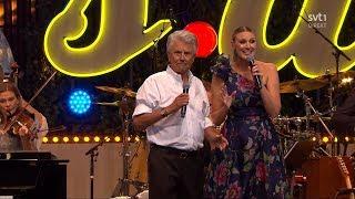 Sven-Bertil Taube & Sanna Nielsen - Fritiof & Carmencita (Live