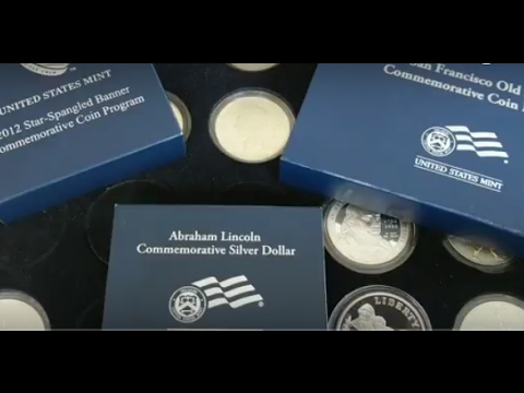 Silver Dollar Collection Update.  90% US Commemorative Silver Dollars.  BU And Proof Silver Coins.