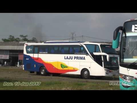 Detik-detik Laju Prima Tabrak HR 130 di Terminal Kartosuro,,