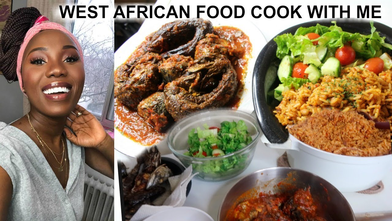 RICE & BEANS JOLLOF? COOKING WEST AFRICAN FOODS FOR DINNER