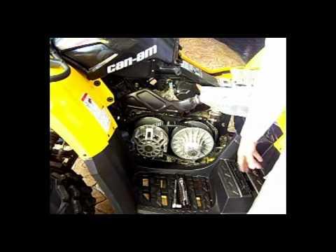 Can Am Renegade 800 >> CAMBIO DE BANDA PARA CAN-AM PASO 3 Y 4.avi - YouTube