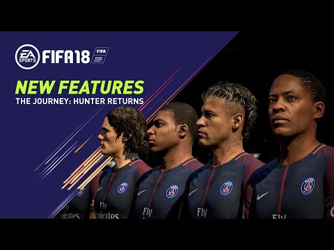 Thumbnail: FIFA 18 | All-New Features in The Journey: Hunter Returns