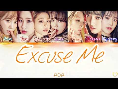 AOA (에이오에이) - Excuse Me [Lyric]