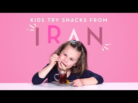 Kids Try Snacks from Iran | Kids Try | HiHo Kids