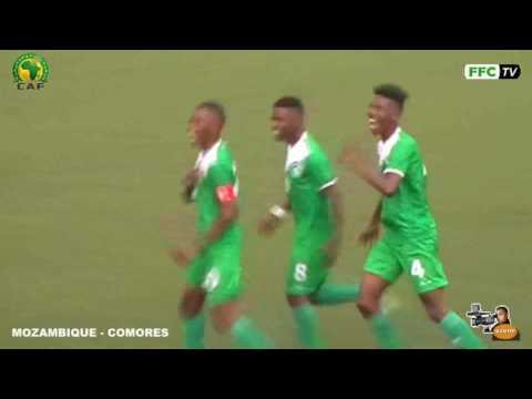 Mozambique 0 -  Comores 3  Extrait du Match 20/08/2016