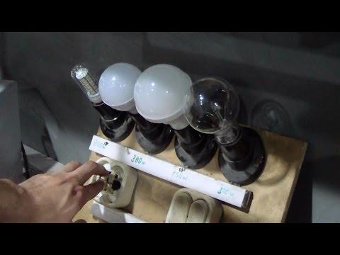 Светодиодные лампы из Китая. Обзор, тест, доработка и ремонт