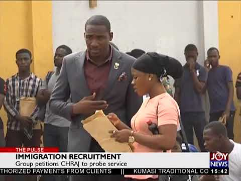 Immigration Recruitment - The Pulse on JoyNews (31-1-18)