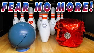 Bowling balls crack. We have the SOLUTION.