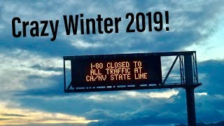 SO MUCH SNOW THEY CLOSED CALIFORNIA!! INSANE WINTER 2019 WEATHER