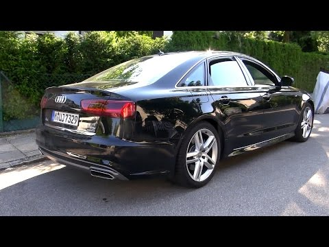 2015 Audi A6 3.0 TDI S-line (272 HP) Test Drive