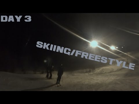 Skiing-Freestyle With Friends ( Day 3 )