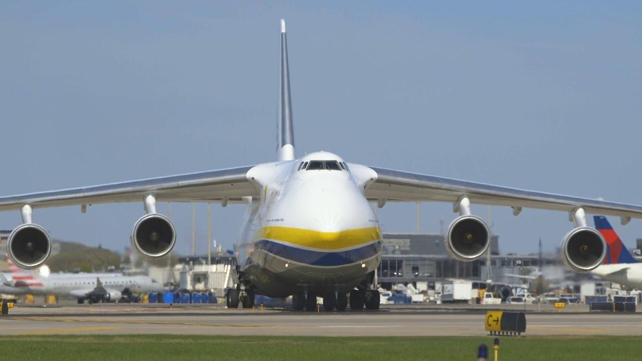 MSP Airport Antonov Aircraft Landing