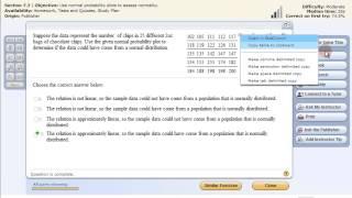 StatCrunch QQ Plot - Évaluer la Normalité