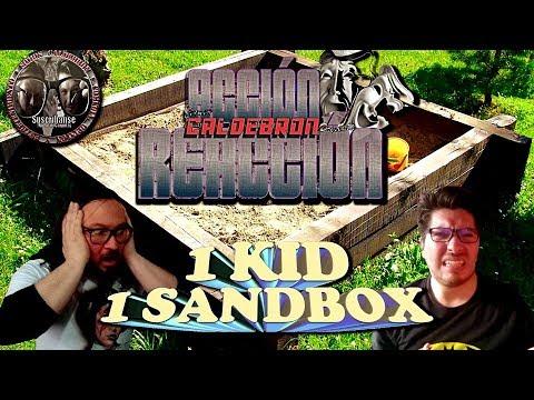 Acción/Reacción: 1 Kid, 1 Sandbox