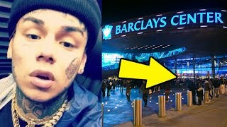 6ix9ine Crew Let off Shot at Casanova in the Barclays Center During Adrien Broner vs Jessie Vargas