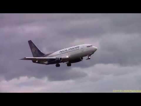 Nolinor B737-200 C-GNLW Landing CYYT