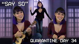 𝗦𝗮𝘆 𝗦𝗼 | Ukulele Cover by 3 Quarantined Lorenas