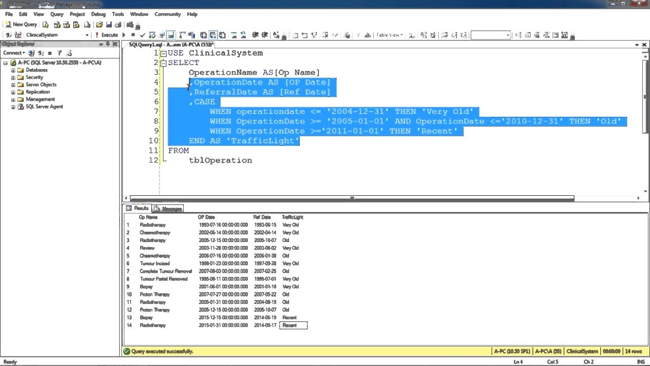 how to write sql update query