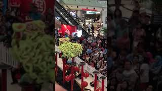 Lion dance attraction in falling accident. Part 1