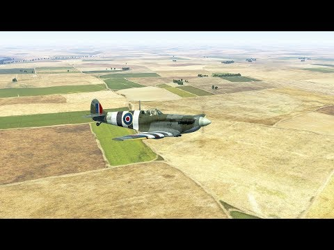 IL 2 Sturmovik: Dogfight and kill compilation [4K]