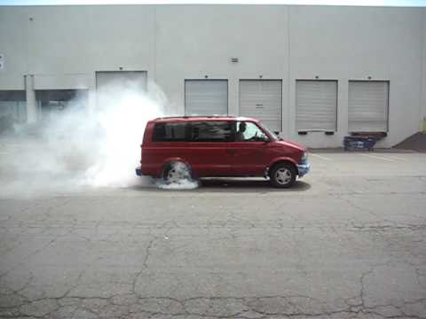 Major Chevy Astro Van Burnout Youtube