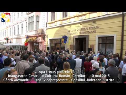Cernauti - 10 mai 2015. Apa trece pietrele rămân (Neamul Românesc)