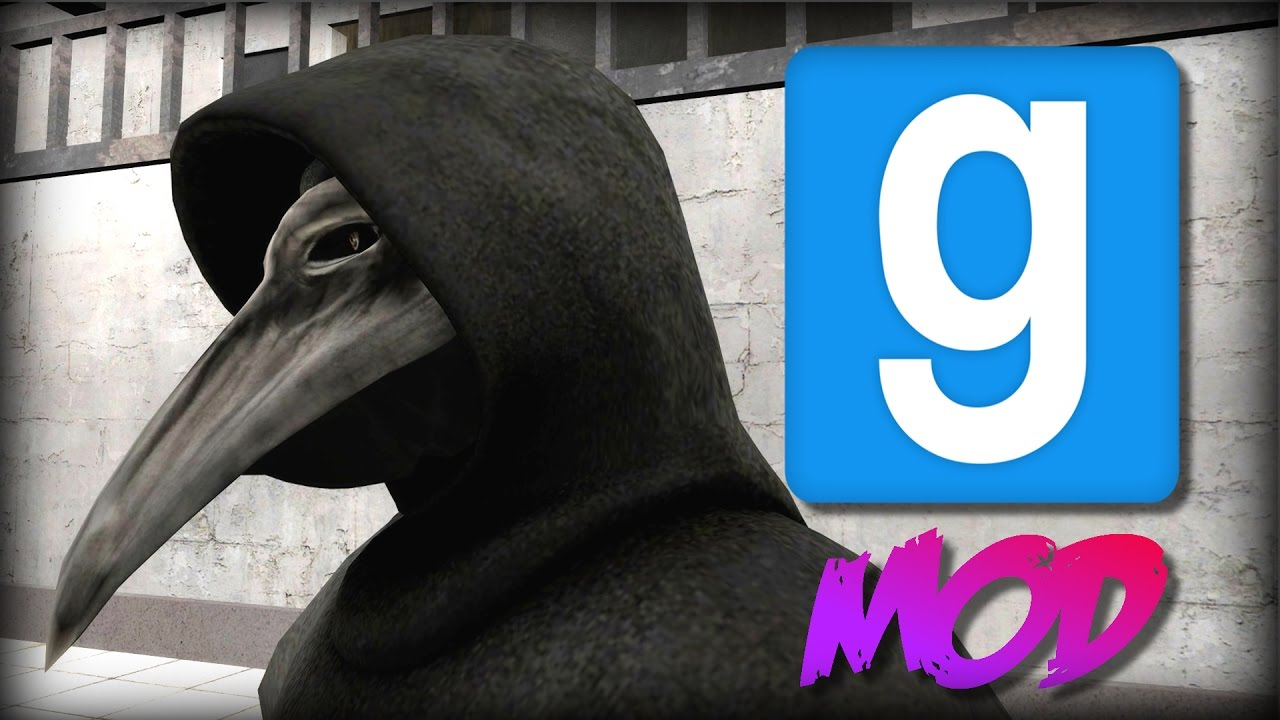 Garry's Mod: IT NEVER STOPS CHASING YOU! SCP-049 | Mod Showcase