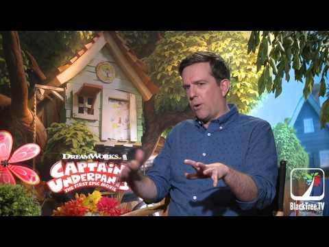 Captain Underpants  Ed Helms Interview