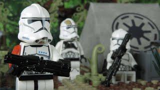 Clone Wars Memoir Chapter 1 - Lego Star Wars Stop motion