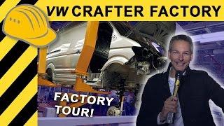 Wahnsinn! Die MEGA FACTORY für den neuen VW Crafter! Factory Tour Volkswagen Werk Polen