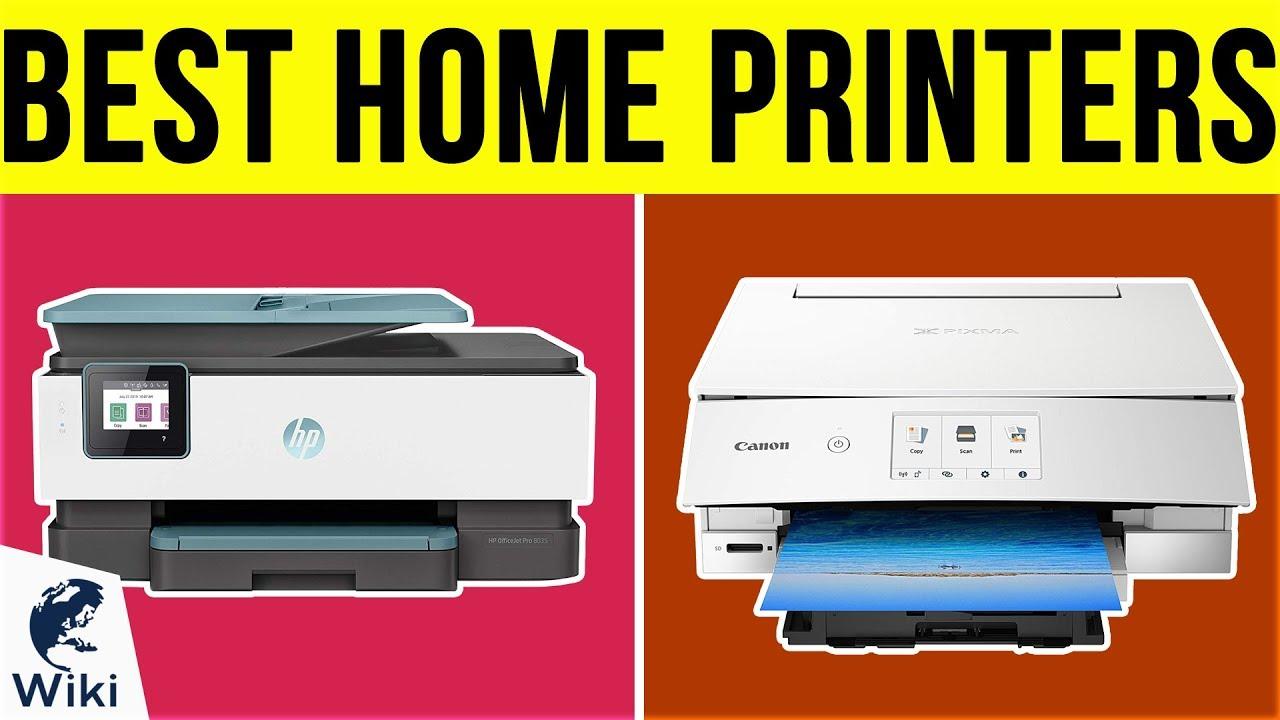 Home Printer Reviews 2020.9 Best Home Printers 2019
