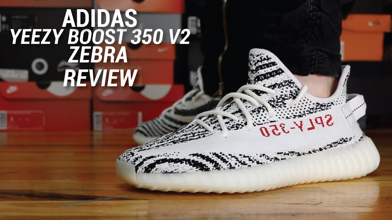 ADIDAS YEEZY 350 V2 ZEBRA REVIEW
