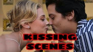 Cole Sprouse & Lili Reinhart Cute & KISSING moments of 2017