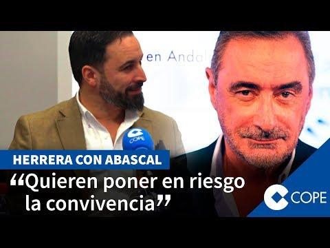 Abascal responde al 'viejo comunismo' con Herrera