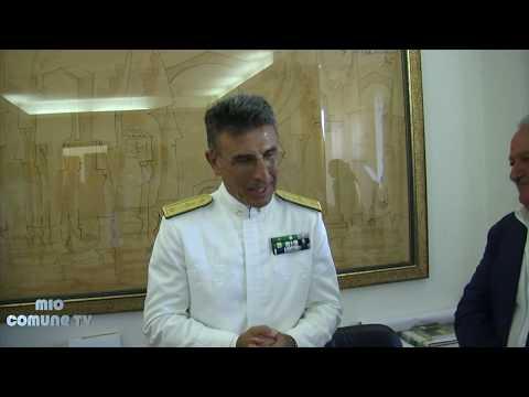 Scalea, il contrammiraglio Giancarlo Russo è cittadino onorario
