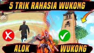 TOP 5 TRIK RAHASIA WUKONG DI FREE FIRE - Bye Bye Alok !