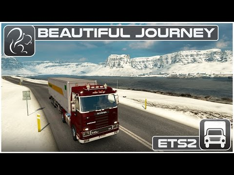 Beautiful Journey - Northern Iceland (ETS2 ProMods 2.1)
