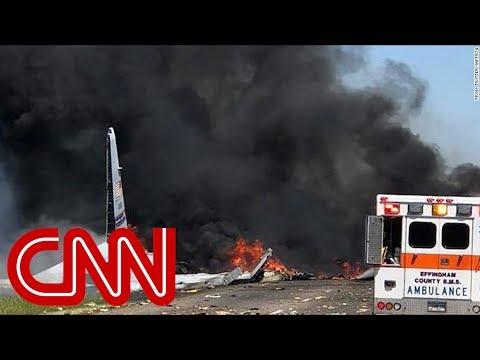 Deadly military plane crash in Georgia
