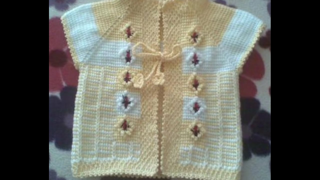 daf873090 New Sweater Design for Kids or baby in hindi - handmade woolen sweater  designs
