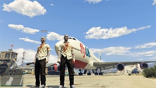 GTA V ONLINE CON MODS: ZOMBIES