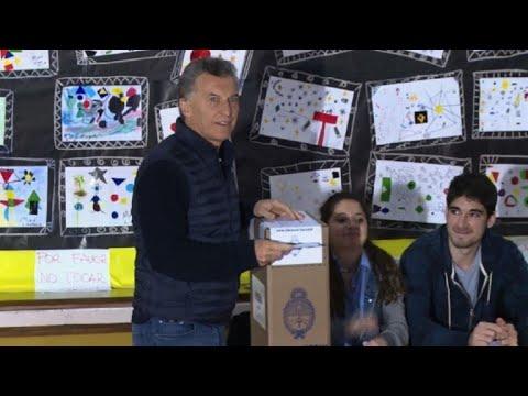 afpes: Macri y argentinos acuden a las urnas en elecciones legislativas