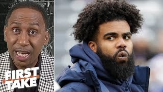 The Cowboys should be worried about giving Zeke $50M guaranteed - Stephen A.   First Take