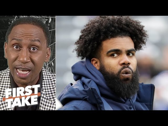 The Cowboys should be worried about giving Zeke $50M guaranteed - Stephen A. | First Take