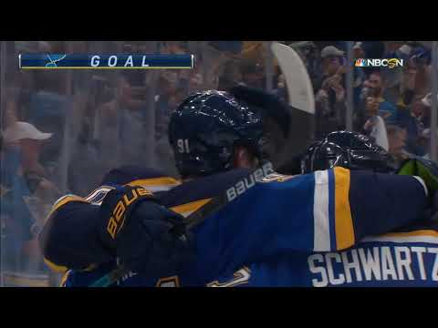 NHL 2018/2019  Sharks vs Blues Game 3 Play Off