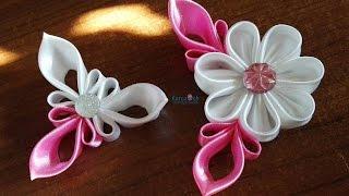 Kanzashi #27 - Elegant petal