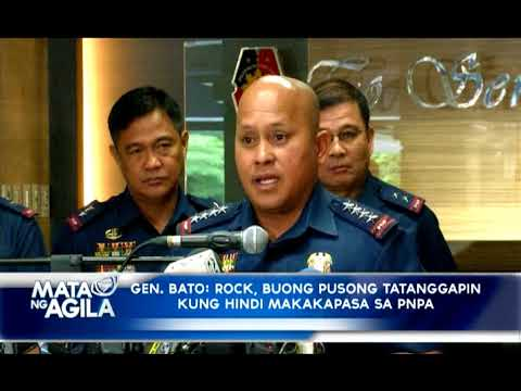 ANAK NI PNP CHIEF NA SI ROCK DELA ROSA,  MAY BAGSAK NA SUBJECT SA PNPA